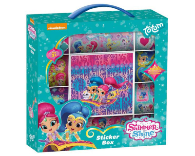 Shimmer & Shine stickerboc
